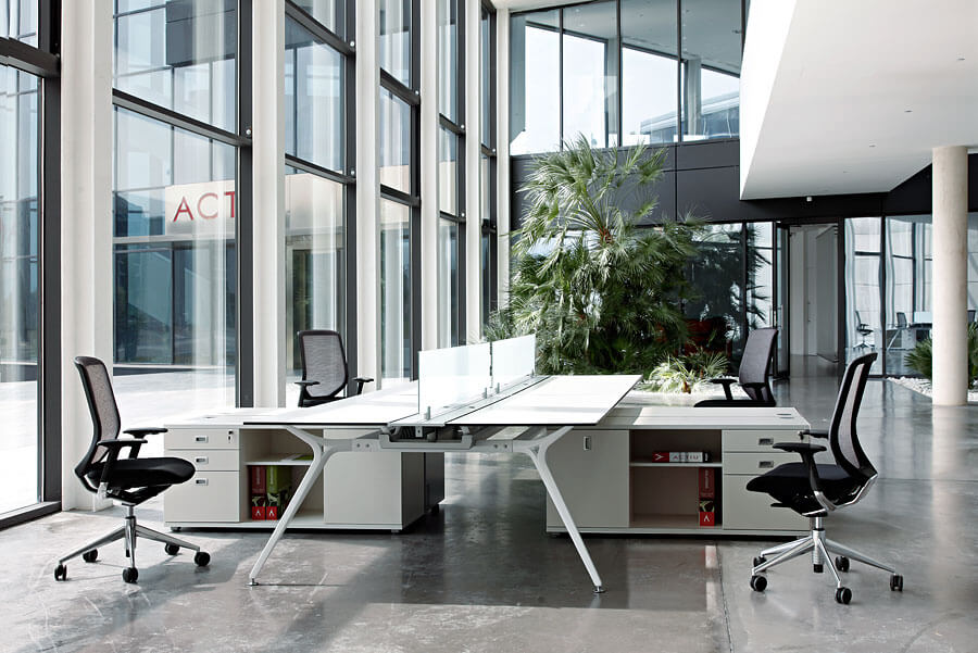 Despacho de dirección para oficinas