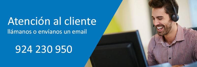 Contacto Inex mobiliario de oficinas Badajoz